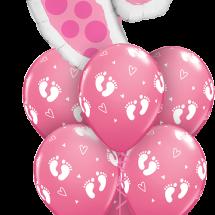 25853 45651 Baby Feet Pink Luxury