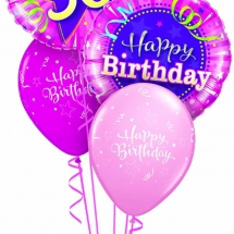 30th Birthday Shining Star Pink Classic