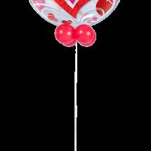 33909 Love Heart Bubble