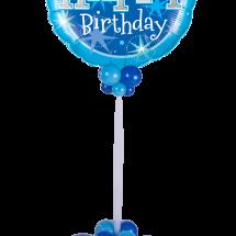 43216 Blue Sparkle Giant Microfoil