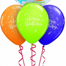 50th Birthday Stars Bubble Layer