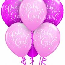 Baby Girl Bear Double Bubble Luxury