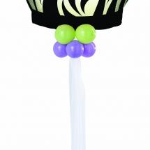 Birthday Zebra Cake Giant Microfoil