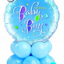 Welcome Baby Boy Mini