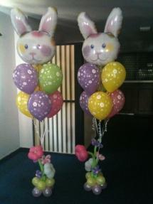bouquet de ballons paques