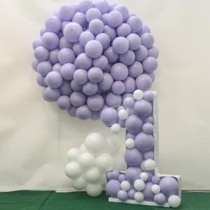 Chiffre 1 en ballons